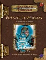 Planar Handbook (Dungeon & Dragons d20 3.5 Fantasy Roleplaying)