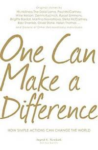 One Can Make a Difference by Ingrid E. Newkirk - First Edition - from AmazingBookDeals (SKU: biblio7)