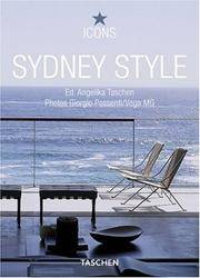 Sydney Style: Exteriors, Interiors, Details (Icons)