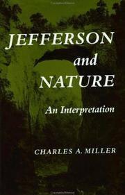 Jefferson and Nature an Interpretation