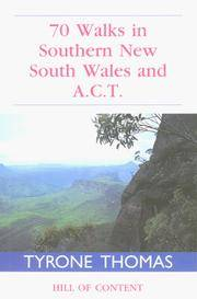 50 Walks in Southern New South Wales and A.C.T