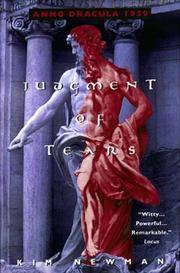 Judgment of Tears:: Anno Dracula 1959