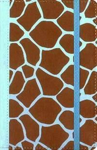 NIV, Animal Print Collection Bible: Giraffe, Imitation Leather, Brown/Blue