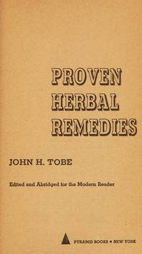 image of Proven herbal remedies, (Pyramid books A3029)