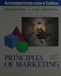 image of Principles of marketing (The Prentice-Hall series in marketing)