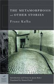 Metamorphosis and Other Stories (Barnes & Noble Classics Series) by Franz Kafka; Translator-Donna Freed; Introduction-Jason Baker - Paperback - 2003-07-01 - from Sagebrush Valley Book Shoppe (SKU: 100710037)