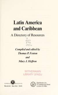 Latin America and Caribbean: A Directory of Resources