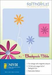 NIV Backpack Bible/Faithgirlz! Backpack Bible