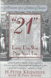 21 Every Day Was New Year's Eve (Memories of a Saloon Keeper)