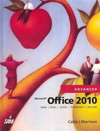 Microsoft� Office 2010, Advanced