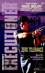 Zero Tolerance  (The Executioner 229) (Don Pendleton's the Executioner)