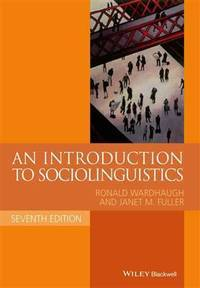 image of An Introduction To Sociolinguistics