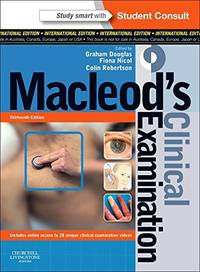 MACLEOD'S CLINICAL EXAMINATION, 13/ED(**)