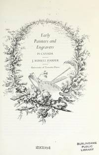 image of Early Painters and Engravers in Canada
