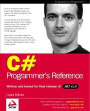 C# Programmers Reference
