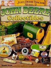 John Deere Collectibles by  Brenda Kruse - First edition - 2001 - from Olmstead Books and Biblio.com