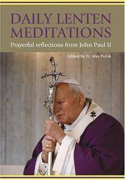 Daily Lenten Meditations