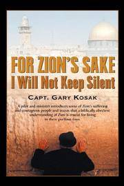 image of For Zion's Sake I Will Not Keep Silent