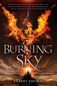The Burning Sky (Elementals #1)