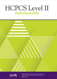 HCPCS 2020 Level II Professional (HCPCS Level II (American Medical Assn))
