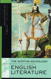The Norton Anthology of English Literature, Volume A: The Middle Ages through the Restoration and...