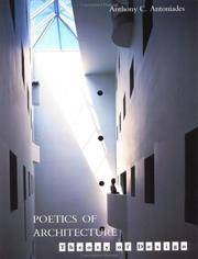 Poetics of Architecture: Theory of Design