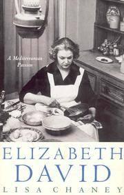 ELIZABETH DAVID  a Mediterranean Passion
