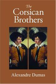 image of The Corsican Brothers