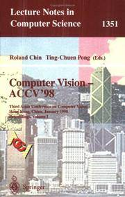 Computer Vision - ACCV'98 : 3rd Asian Conference on Computer Vision, Hong  Kong, China, January 8-10, 1998, Proceedings