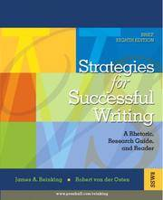 image of Strategies for Successful Writing: A Rhetoric, Research Guide and Reader (8th Edition)