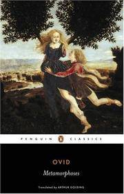 image of Metamorphoses (Penguin Classics)