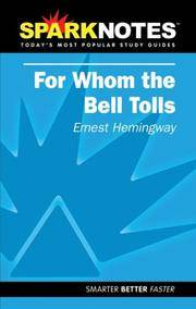 Spark Notes For Whom The Bell Tolls