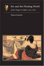 Sex and the Floating World  Erotic Images in Japan 1700-1820