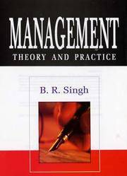 MANAGEMENT: THEORY & PRACTICE (SET OF 2 VOLS.)