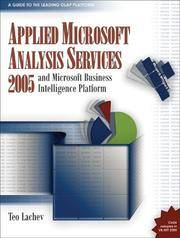 Applied Microsoft Analysis Services 2005: And Microsoft Business Intelligence Platform