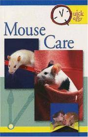 MOUSE CARE