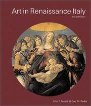 Art in Renaissance Italy (2nd Edition)