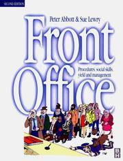 Front Office: Procedures, Social Skills and Management