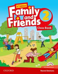 Family And Friends: Level 2: Class Book With Student MultiROM - Used Books