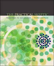 image of The Practical Skeptic: Readings in Sociology (4th ED)