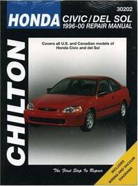 Honda Civic/del Sol, 1996-2000 (Chilton Total Car Care Series Manuals) [Paperback] Kevin M. G. Maher