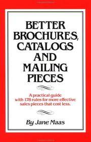 Better Brochures, Catalogs & Mailing Pieces