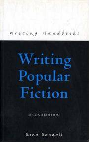 image of Writing Popular Fiction (Books for Writers)