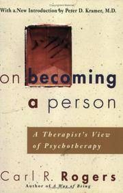 image of On Becoming a Person : A Therapist's View of Psychotherapy