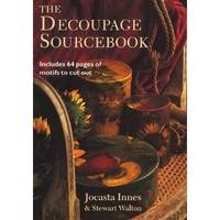 Decoupage Sourcebook includes 64 pages of motifs to cut out
