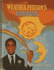 *Signed* Weather Person's Handbook the