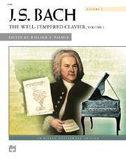 J. S. Bach: The Well-Tempered Clavier (Alfred Masterwork Editions)