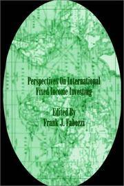 Perspectives On International Fixed Income Investing