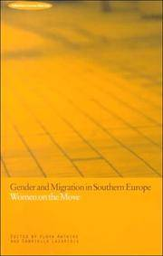 Gender and Migration in Southern Europe : Women on the Move