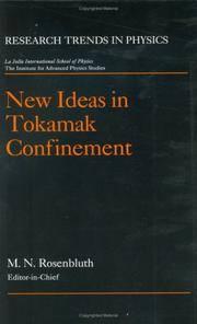 New Ideas in Tokamak Confinement